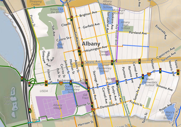 Proposed bikeways