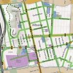 Proposed pedestrian plan