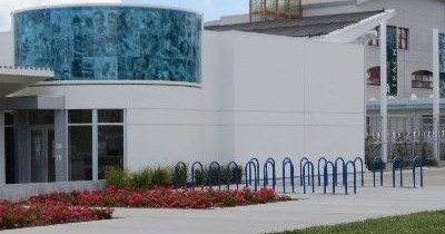 Bike Racks Installed at Albany Pool